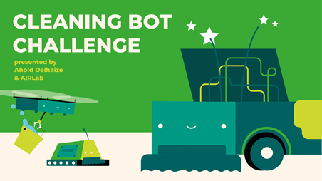 Ahold Delhaize announces winners of Cleaning Bot Challenge