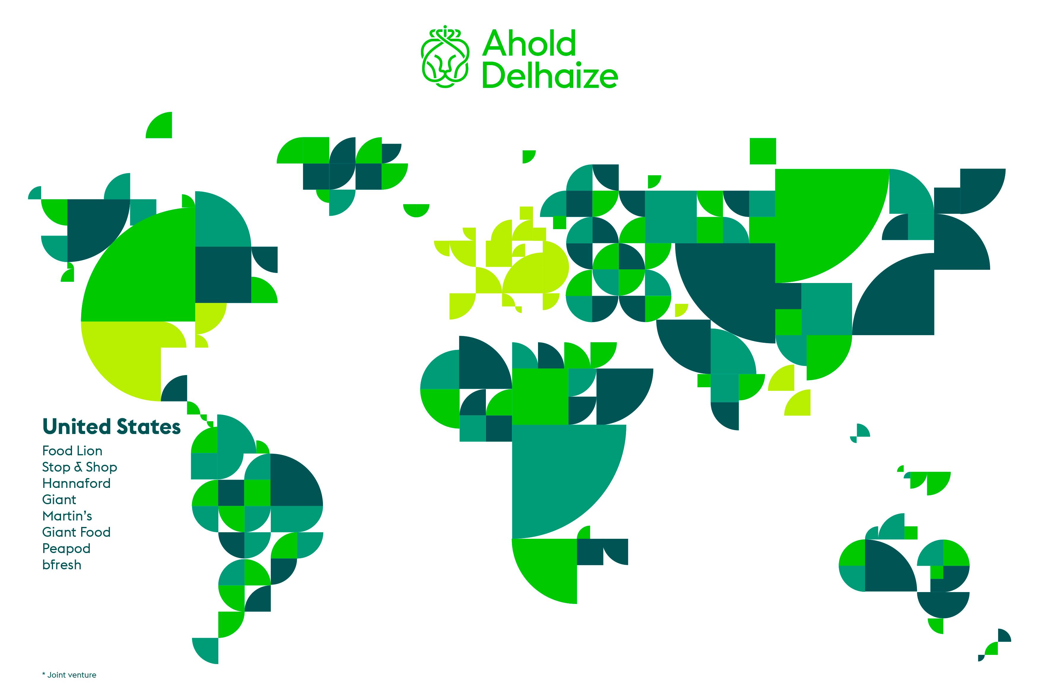 United States Ahold Delhaize - Map us foods pheonicx