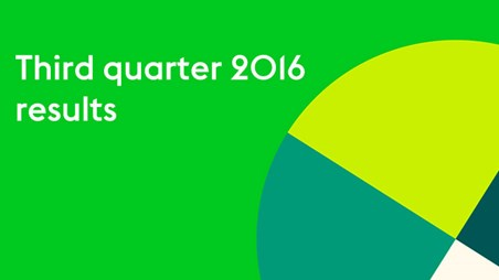 Ahold Delhaize Q3 2016 results