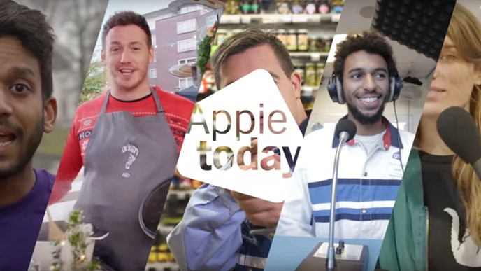 Albert Heijn marks first year of Appie Today
