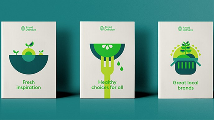 Ahold Delhaize honored for design for 'best corporate rebrand'