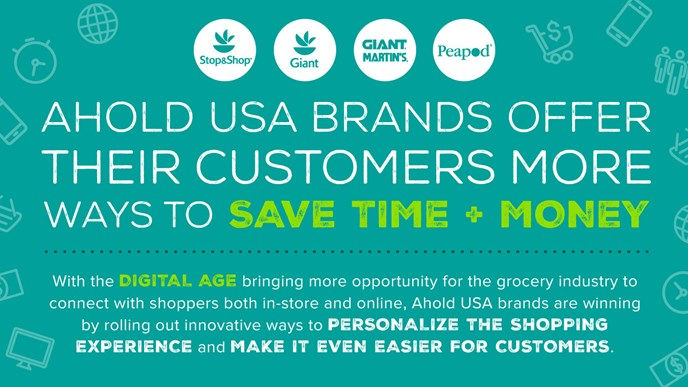 Ahold USA brands connect with customers in digital push