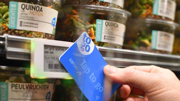 Albert Heijn to deploy 'tap to go' at Amsterdam store