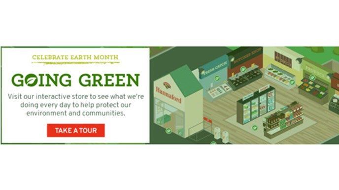 Hannaford is going greener: take a virtual store tour to find out how