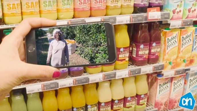 Juicy details: Albert Heijn uses blockchain to make orange juice production transparent