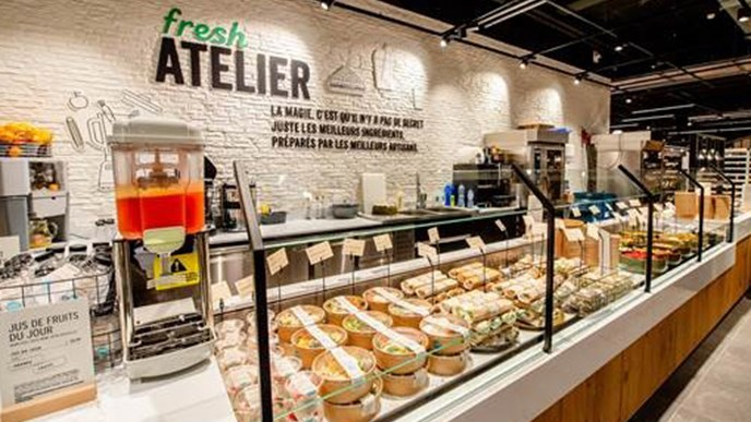 Delhaize's new store concept: focused on discoveries, convenience and inspiration