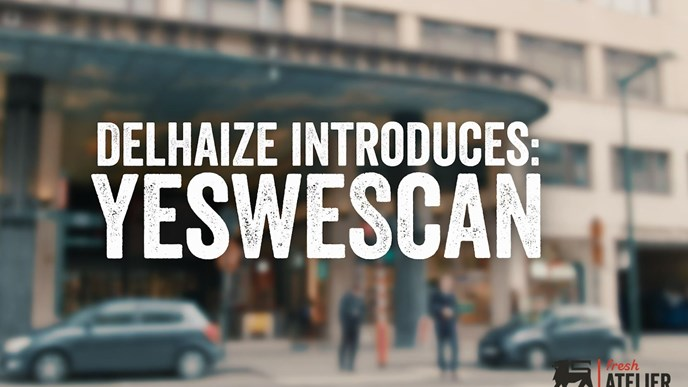 Fast and easy: Delhaize launches 'YesWeScan' mobile payment app